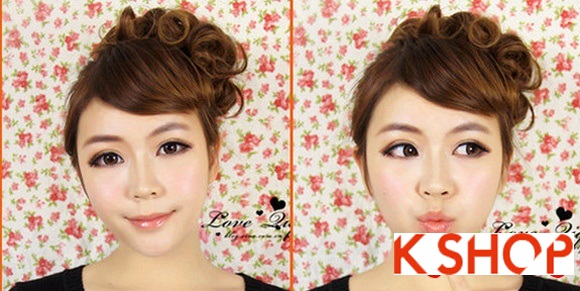 Kiểu tóc uốn xoăn Hàn Quốc đẹp 2016 cho cô nàng năng động hoạt bát phần 8