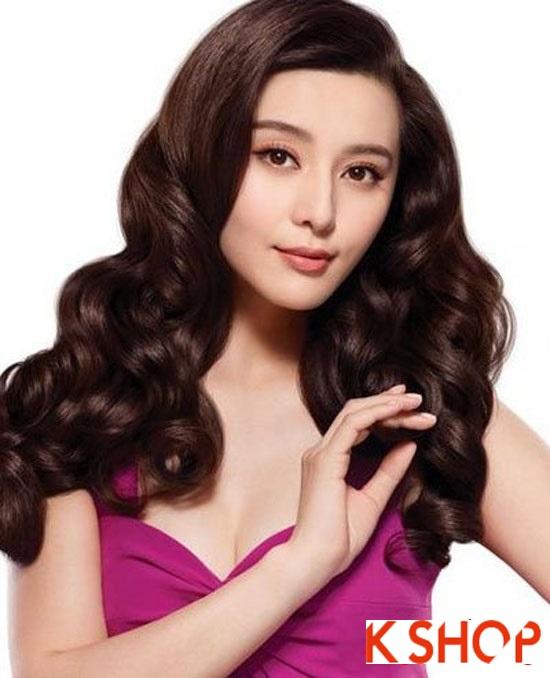 Những kiểu tóc uốn xoăn tuyệt đẹp 2016 phong cách Hàn Quốc phần 1
