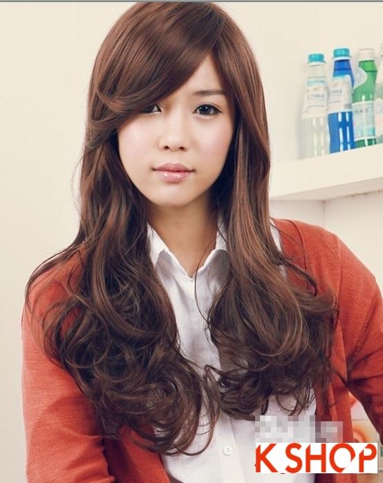 Những kiểu tóc uốn xoăn tuyệt đẹp 2016 phong cách Hàn Quốc phần 2