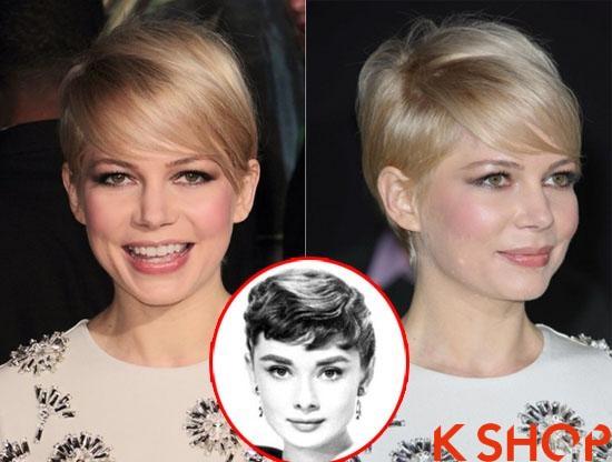 Những kiểu tóc ngắn vintage đẹp cá tính của sao Hollywood 2017 phần 1