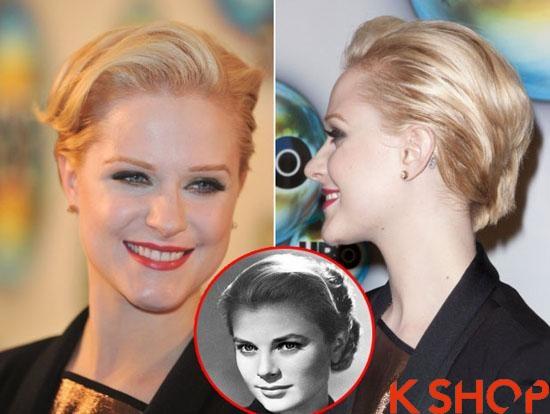 Những kiểu tóc ngắn vintage đẹp cá tính của sao Hollywood 2017 phần 2