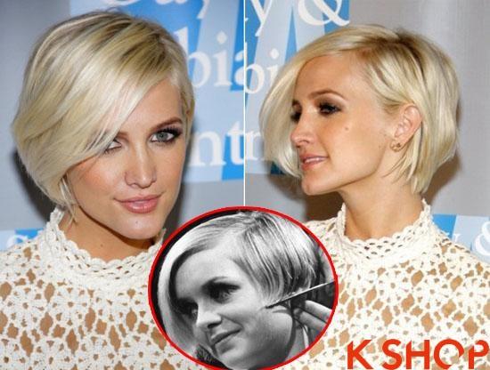 Những kiểu tóc ngắn vintage đẹp cá tính của sao Hollywood 2017 phần 3