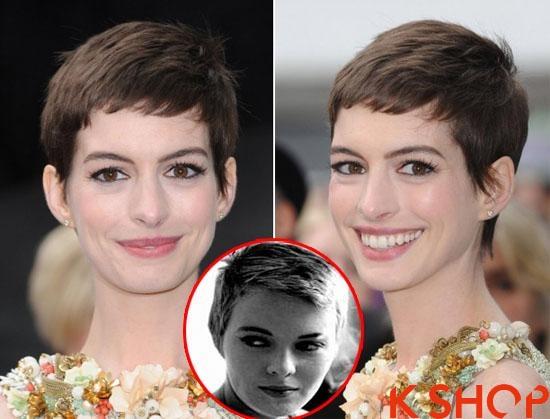 Những kiểu tóc ngắn vintage đẹp cá tính của sao Hollywood 2017 phần 5