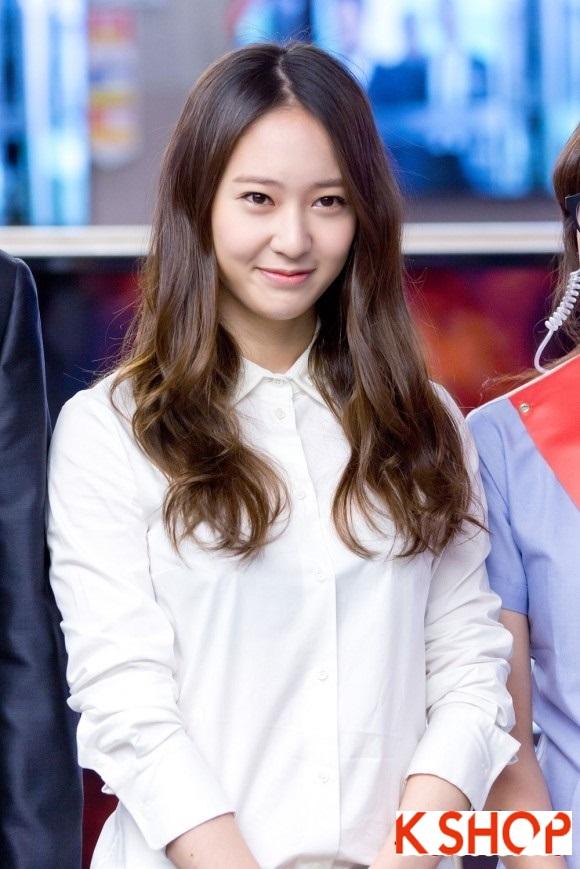 Tóc xoăn dài gợn sóng Hàn Quốc đẹp cho cô nàng dạo phố hè 2017 phần 4