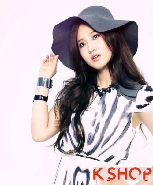 Những kiểu tóc uốn xoăn sóng nước đẹp cực hot 2017 gây sốt sao kpop Hàn Quốc phần 4