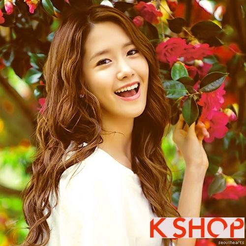Những kiểu tóc uốn xoăn sóng nước đẹp cực hot 2017 gây sốt sao kpop Hàn Quốc phần 8