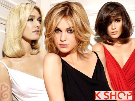 5 kiểu tóc ngắn ngang vai hàn quốc đẹp bạn gái khuôn mặt dài phần 1
