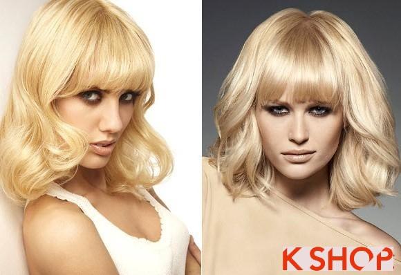 5 kiểu tóc ngắn ngang vai hàn quốc đẹp bạn gái khuôn mặt dài phần 5