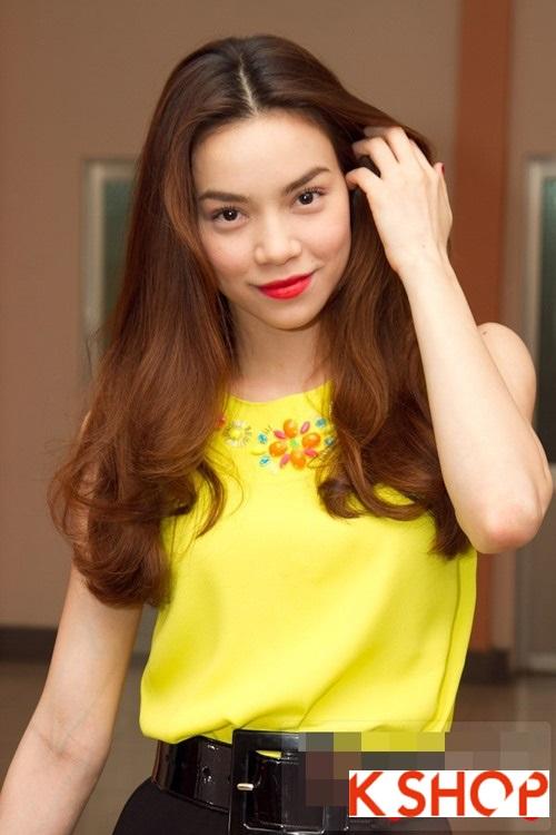 5 Kiểu tóc đẹp 2016 cực quyến rũ sang trọng của sao Việt năm nay phần 1