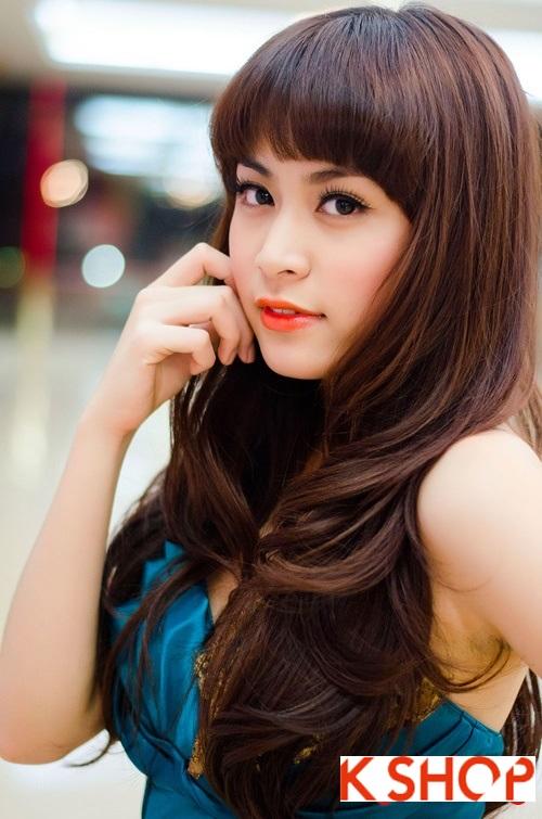5 Kiểu tóc đẹp 2016 cực quyến rũ sang trọng của sao Việt năm nay phần 12
