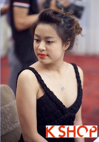 5 Kiểu tóc đẹp 2016 cực quyến rũ sang trọng của sao Việt năm nay phần 16