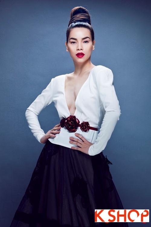 5 Kiểu tóc đẹp 2016 cực quyến rũ sang trọng của sao Việt năm nay phần 24