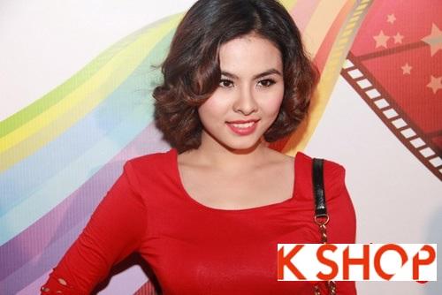 5 Kiểu tóc đẹp 2016 cực quyến rũ sang trọng của sao Việt năm nay phần 4