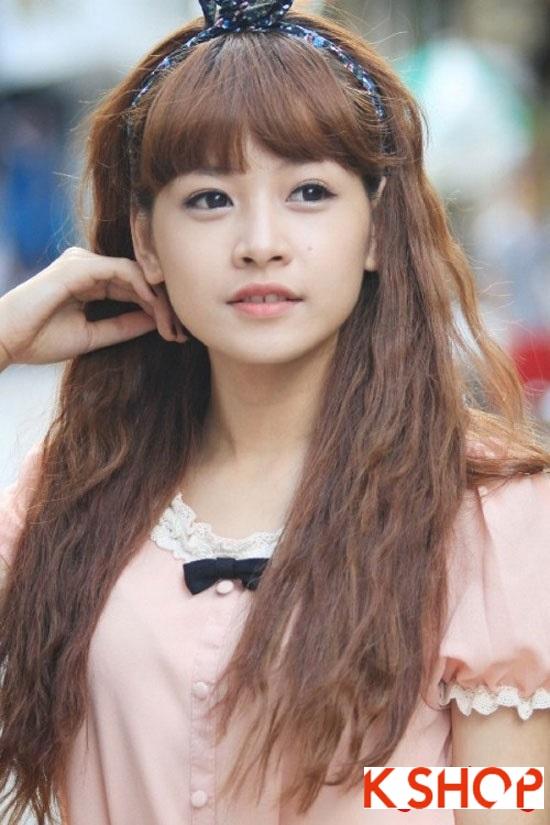 5 Kiểu tóc đẹp 2016 cực quyến rũ sang trọng của sao Việt năm nay phần 6