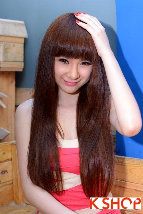 5 Kiểu tóc đẹp 2016 cực quyến rũ sang trọng của sao Việt năm nay phần 9