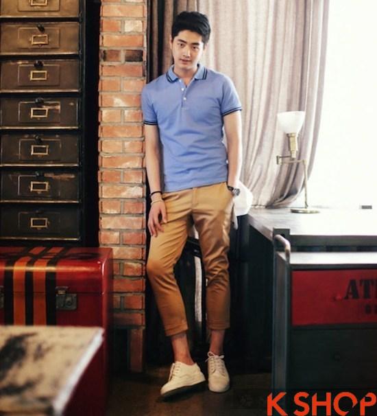 Áo phông nam công sở đẹp hè 2017 cho bạn trai thời trang thoải mái phần 4
