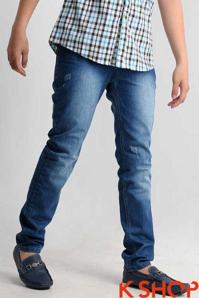 Quần Jeans nam đẹp hè 2017 cho chàng mạnh mẽ đầy phong cách lôi cuốn phần 2