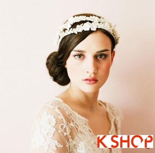 Tóc búi đẹp nhất cho cô dâu sang trọng cuốn hút trong ngày cưới phần 1
