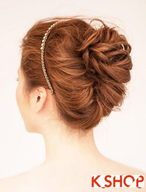 Tóc búi đẹp nhất cho cô dâu sang trọng cuốn hút trong ngày cưới phần 10