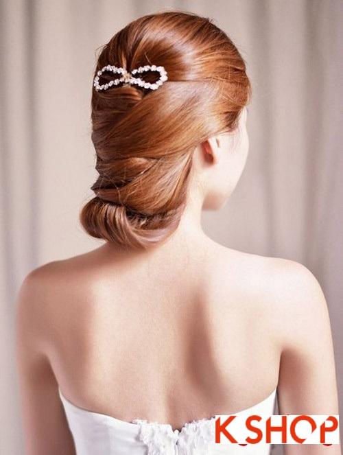 Tóc búi đẹp nhất cho cô dâu sang trọng cuốn hút trong ngày cưới phần 11