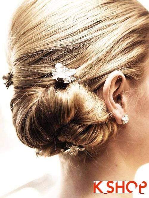 Tóc búi đẹp nhất cho cô dâu sang trọng cuốn hút trong ngày cưới phần 12