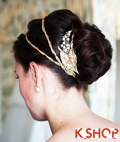 Tóc búi đẹp nhất cho cô dâu sang trọng cuốn hút trong ngày cưới phần 14