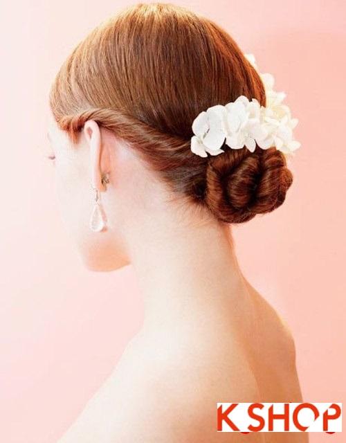 Tóc búi đẹp nhất cho cô dâu sang trọng cuốn hút trong ngày cưới phần 16