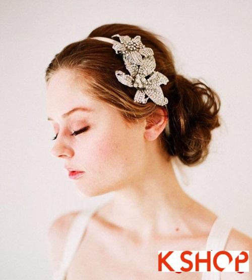 Tóc búi đẹp nhất cho cô dâu sang trọng cuốn hút trong ngày cưới phần 3