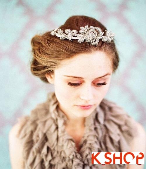 Tóc búi đẹp nhất cho cô dâu sang trọng cuốn hút trong ngày cưới phần 4