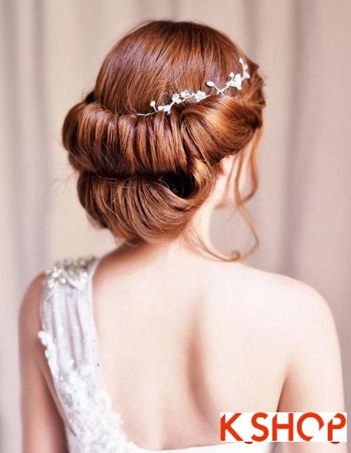 Tóc búi đẹp nhất cho cô dâu sang trọng cuốn hút trong ngày cưới phần 6