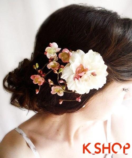 Tóc búi đẹp nhất cho cô dâu sang trọng cuốn hút trong ngày cưới phần 7