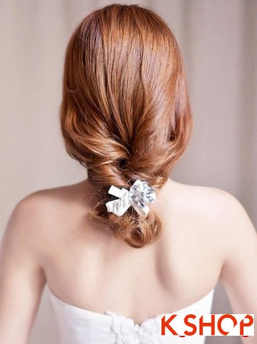 Tóc búi đẹp nhất cho cô dâu sang trọng cuốn hút trong ngày cưới phần 8