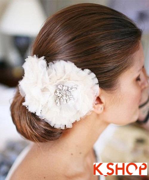 Tóc búi đẹp nhất cho cô dâu sang trọng cuốn hút trong ngày cưới phần 9