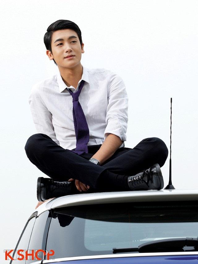 Tóc nam ngôi lệch đẹp 2017 như diễn viên Hàn Quốc Park Hyung Sik phần 2