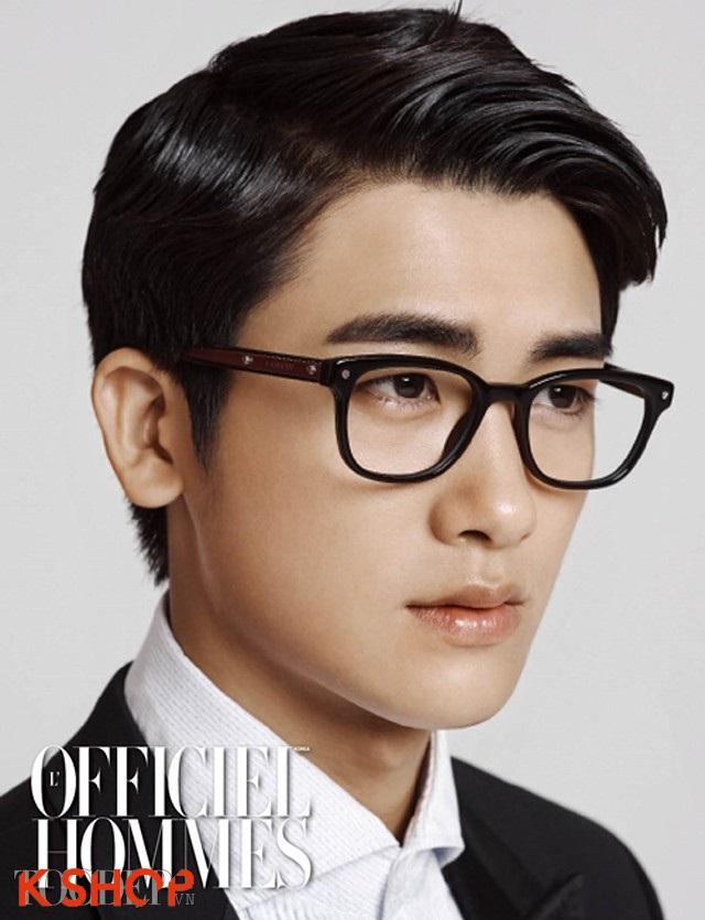 Tóc nam ngôi lệch đẹp 2017 như diễn viên Hàn Quốc Park Hyung Sik phần 9