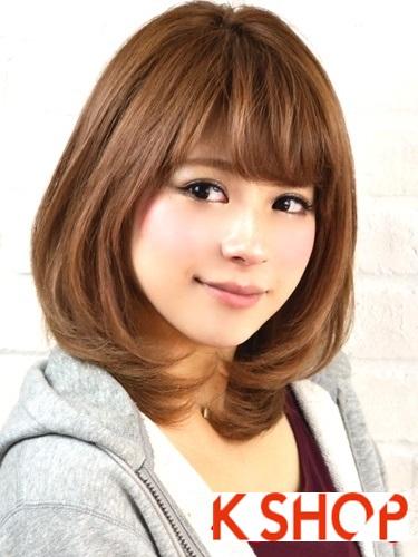 Tóc ngắn Hàn Quốc đẹp 2017 trẻ trung cho nàng sành điệu tới công sở phần 26
