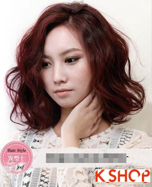 Tóc xoăn Hàn Quốc đẹp 2016 trẻ trung cho cô nàng nữ tính quyến rũ phần 10