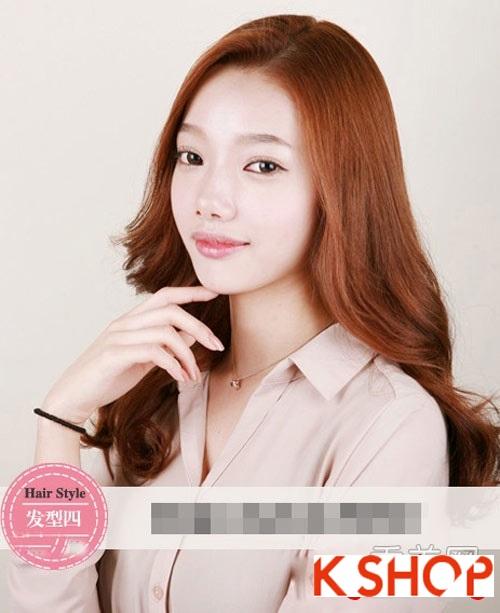Tóc xoăn Hàn Quốc đẹp 2016 trẻ trung cho cô nàng nữ tính quyến rũ phần 4