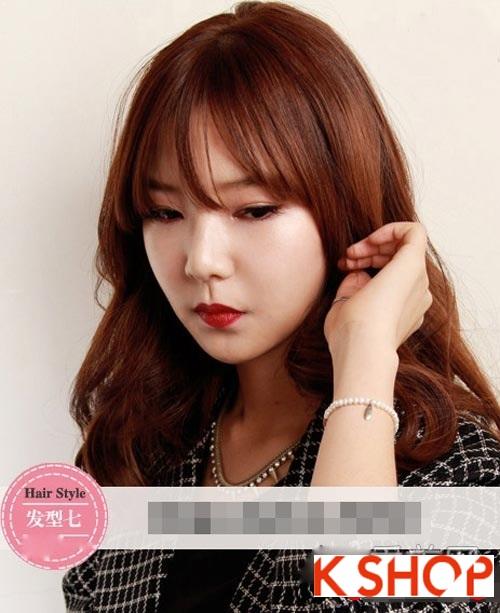 Tóc xoăn Hàn Quốc đẹp 2016 trẻ trung cho cô nàng nữ tính quyến rũ phần 7