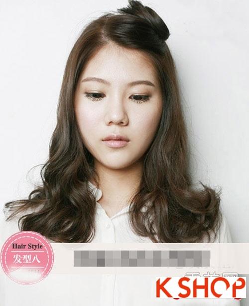 Tóc xoăn Hàn Quốc đẹp 2016 trẻ trung cho cô nàng nữ tính quyến rũ phần 8
