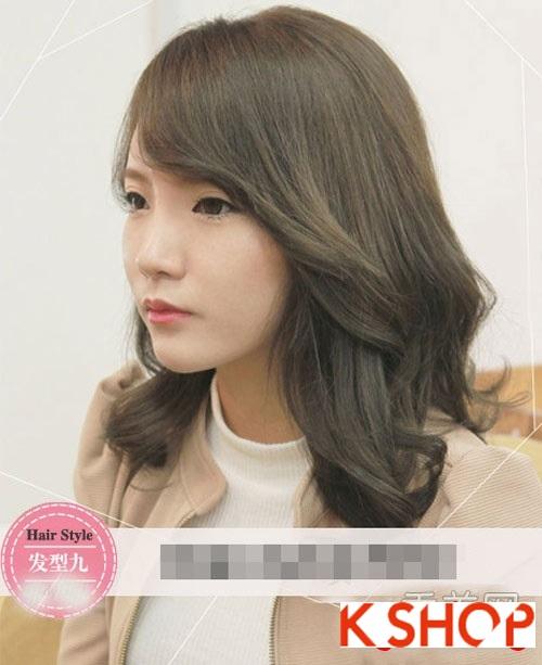 Tóc xoăn Hàn Quốc đẹp 2016 trẻ trung cho cô nàng nữ tính quyến rũ phần 9