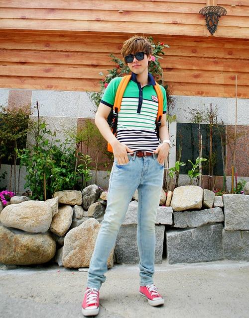 Tổng hợp kiểu áo thun pull nam đẹp được yêu thích nhất hè 2017 phần 4