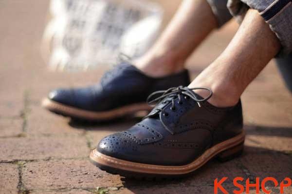 5 Kiểu giày nam đẹp phong cách Hàn Quốc hè 2017 tiện dụng đẳng cấp phần 4