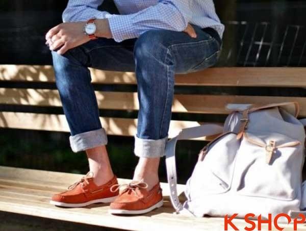 5 Kiểu giày nam đẹp phong cách Hàn Quốc hè 2017 tiện dụng đẳng cấp phần 6