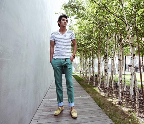 Áo thun pull nam Hàn Quốc đẹp cho chàng nổi bật cá tính mùa hè 2017 phần 6