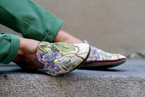 Giày nam họa tiết hoa lá đẹp hè 2016 xu hướng thời trang năm nay phần 1