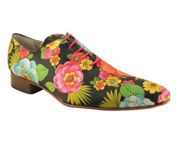 Giày nam họa tiết hoa lá đẹp hè 2016 xu hướng thời trang năm nay phần 4