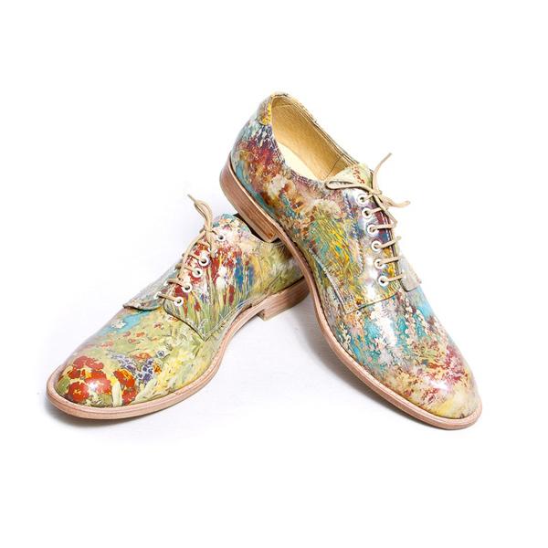 Giày nam họa tiết hoa lá đẹp hè 2016 xu hướng thời trang năm nay phần 7