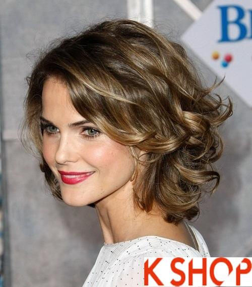 Top 3 kiểu tóc uốn xoăn lọn đẹp hè 2017 cô nàng khuôn mặt mũm mĩm phần 12