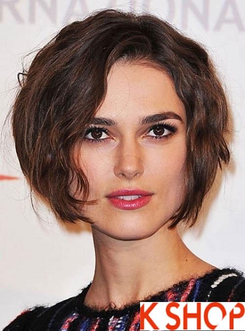 Top 3 kiểu tóc uốn xoăn lọn đẹp hè 2017 cô nàng khuôn mặt mũm mĩm phần 13
